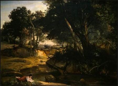 Corot. Forêt de FOntainebleau