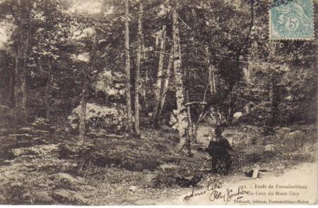 Le Rocher Cuvier châtillon et le plateau de Belle-Croix